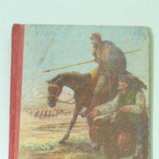 Libros antiguos: EL INGENIOSO HIDALGO D. QUIJOTE DE LA MANCHA. EDICION ESCOLAR. THE INGENIOUS GENTLEMAN DON QUIXOTE. Lote 32858359