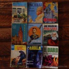 Libros antiguos: LOTE DE 9 MINI LIBROS VARIOS EDICIONES G. P. Y OTROS. Lote 33663748