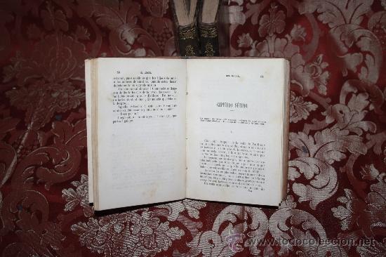Libros antiguos: 5889 - EL ANGEL DEL HOGAR. MARIA DEL PILAR SINUES. IMP ESPAÑOLA. 3 VOL.1862. - Foto 4 - 35005949