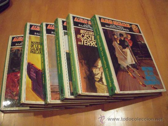 6 LIBROS DE ALFRED HITCHCOCK (Libros Antiguos, Raros y Curiosos - Literatura Infantil y Juvenil - Novela)