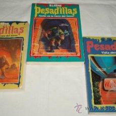 Libros antiguos: PESADILLAS TRES NOVELAS Nº 11 - 14 - 19. Lote 37226961