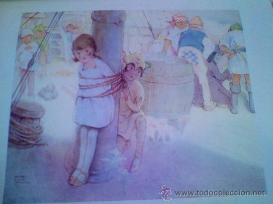 Libros antiguos: Peter Pan i Wendy 1ª edicion en catalan 1935 - Foto 6 - 37313484