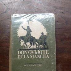 Libros antiguos: EL INGENIOSO HIDALGO DON QUIJOTE DE LA MANCHA, DE MIGUEL DE CERVANTES, ABREV. POR NICOLAS GONZALEZ. Lote 37708080