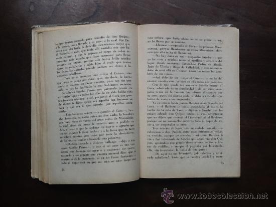 Libros antiguos: EL INGENIOSO HIDALGO DON QUIJOTE DE LA MANCHA, DE MIGUEL DE CERVANTES, ABREV. POR NICOLAS GONZALEZ - Foto 2 - 37708080