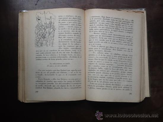 Libros antiguos: EL INGENIOSO HIDALGO DON QUIJOTE DE LA MANCHA, DE MIGUEL DE CERVANTES, ABREV. POR NICOLAS GONZALEZ - Foto 3 - 37708080