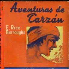 Libros antiguos: E. RICE BURROUGHS : TARZÁN Y EL LEÓN DE ORO (G. GILI, 1928). Lote 39188180