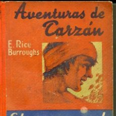 Libros antiguos: E. RICE BURROUGHS : EL REGRESO DE TARZÁN (G. GILI, C. 1930). Lote 39188206