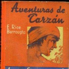 Libros antiguos: E. RICE BURROUGHS : LAS FIERAS DE TARZÁN (G. GILI, C. 1930). Lote 39188249