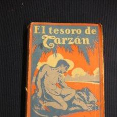 Libros antiguos: EL TESORO DE TARZAN. EDGAR RICE BURROUGHS.GUSTAVO GILI 1927.. Lote 39419370