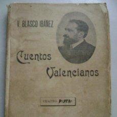 Libros antiguos: CUENTOS VALENCIANOS.V. BLASCO IBAÑEZ.275. Lote 39606433