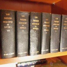 Libros antiguos: LOS PREMIOS GONCOURT DE LA NOVELA -7 TOMOS-. Lote 40148981