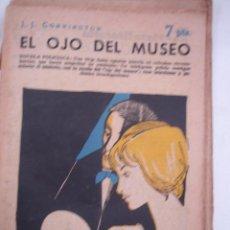 Libros antiguos: EL OJO DEL MUSEO, REVISTA LITERARIA, NOVELAS Y CUENTOS . Lote 40305640