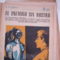 Libros antiguos: EL ENEMIGO SIN ROSTRO, REVISTA LITERARIA, NOVELAS Y CUENTOS . Lote 40305669