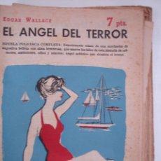 Libros antiguos: WALLACE, EDGAR. EL ÁNGEL DEL TERROR : NOVELA , REVISTA LITERARIA, NOVELAS Y CUENTOS . Lote 40305759