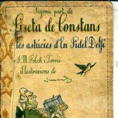 Libros antiguos: FOLCH I TORRES : LISETA DE CONSTANS II PART (BAGUÑÁ, 1924) EN CATALÁN. Lote 40354702