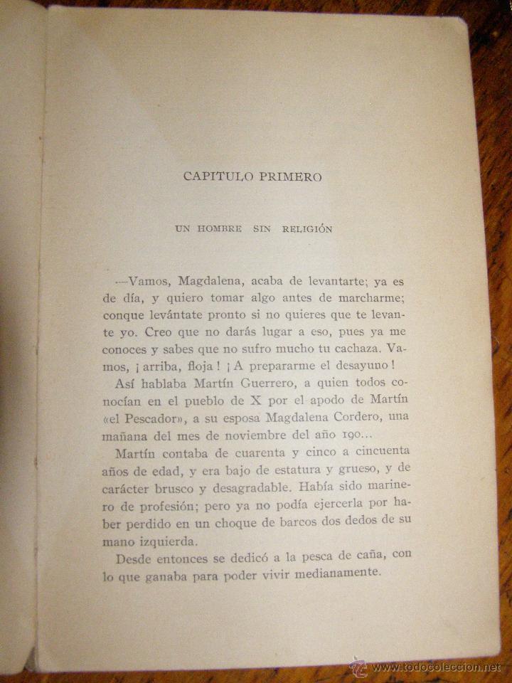 Libros antiguos: Otro Libro Muy Raro... - Martín el pescador - de José Moreno Córdoba - 1926 - Foto 4 - 147787586