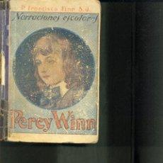 Libros antiguos: PERCY WINN. AÑOS 20/30. R.P. FRANCISCO FINN S.J. . Lote 40631671