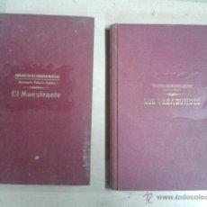Libros antiguos: LOS VAGABUNDOS - EL MAESTRANTE LIBRO. Lote 40889413