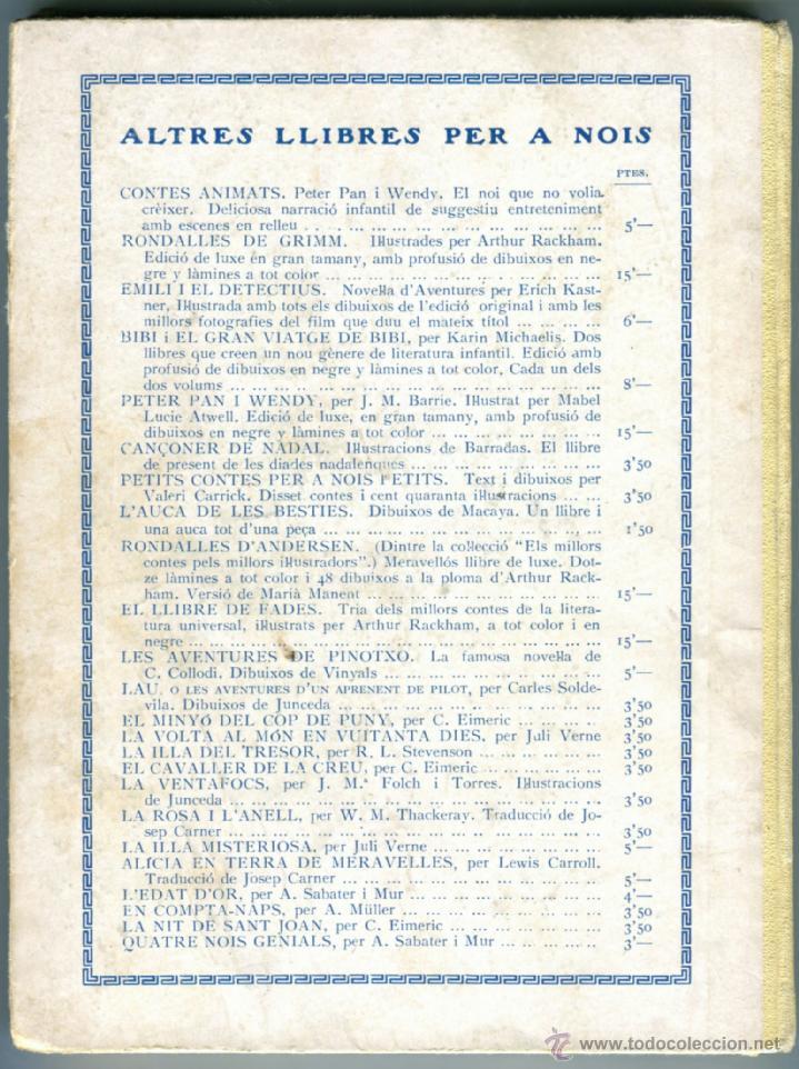 Libros antiguos: EL MINYO DEL COP DE PUNY ILUSTRACIONES DE OPISSO 1ª ED. 1934 BUEN ESTADO VER INFORMACION DETALLADA - Foto 2 - 41622798