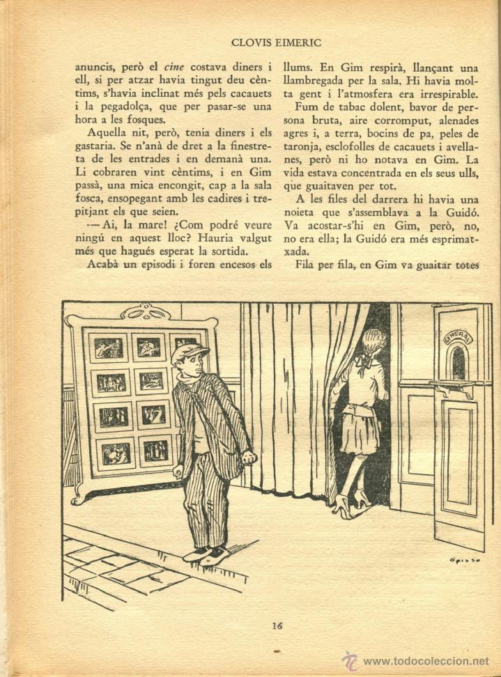 Libros antiguos: EL MINYO DEL COP DE PUNY ILUSTRACIONES DE OPISSO 1ª ED. 1934 BUEN ESTADO VER INFORMACION DETALLADA - Foto 7 - 41622798