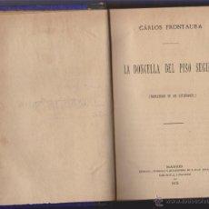 Libros antiguos: CUENTOS DE SALON LIBRO DE CUENTOS DE 1872***CARLOS FRONTAURA**LA DONCELLA DEL PISO SEGUNDO. Lote 42144788