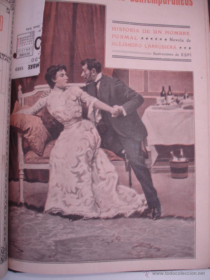 Libros antiguos: LOS CONTEMPORANEOS. REVISTA SEMANAL ILUSTRADA. TRES TOMOS año completo 1910 HASTA ENERO 1911 - Foto 4 - 42451489
