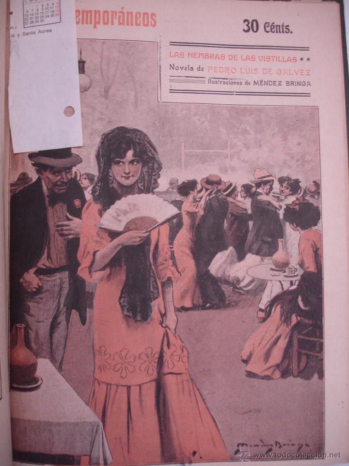 Libros antiguos: LOS CONTEMPORANEOS. REVISTA SEMANAL ILUSTRADA. TRES TOMOS año completo 1910 HASTA ENERO 1911 - Foto 5 - 42451489