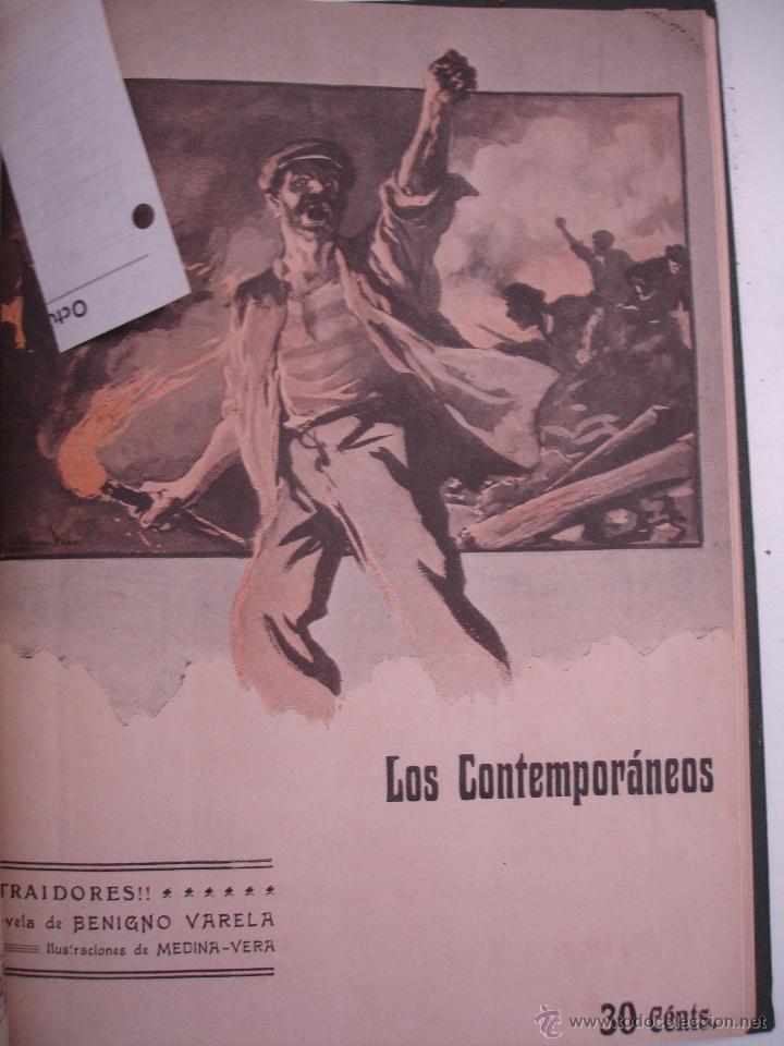 Libros antiguos: LOS CONTEMPORANEOS. REVISTA SEMANAL ILUSTRADA. TRES TOMOS año completo 1910 HASTA ENERO 1911 - Foto 7 - 42451489