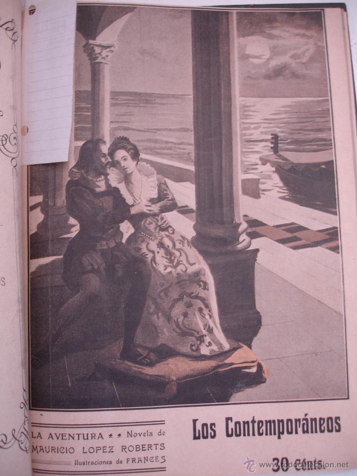 Libros antiguos: LOS CONTEMPORANEOS. REVISTA SEMANAL ILUSTRADA. TRES TOMOS año completo 1910 HASTA ENERO 1911 - Foto 8 - 42451489