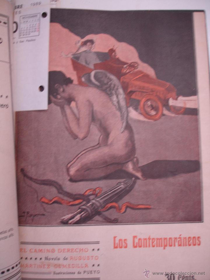 Libros antiguos: LOS CONTEMPORANEOS. REVISTA SEMANAL ILUSTRADA. TRES TOMOS año completo 1910 HASTA ENERO 1911 - Foto 9 - 42451489