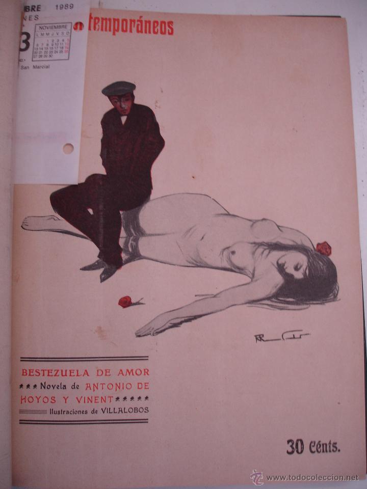 Libros antiguos: LOS CONTEMPORANEOS. REVISTA SEMANAL ILUSTRADA. TRES TOMOS año completo 1910 HASTA ENERO 1911 - Foto 11 - 42451489