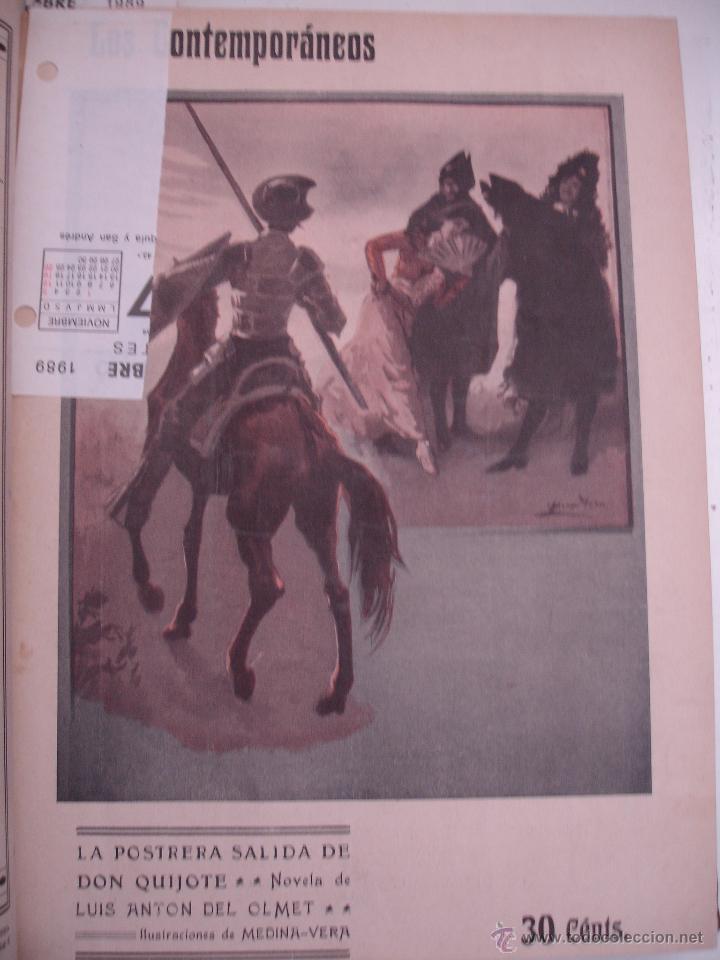 Libros antiguos: LOS CONTEMPORANEOS. REVISTA SEMANAL ILUSTRADA. TRES TOMOS año completo 1910 HASTA ENERO 1911 - Foto 13 - 42451489