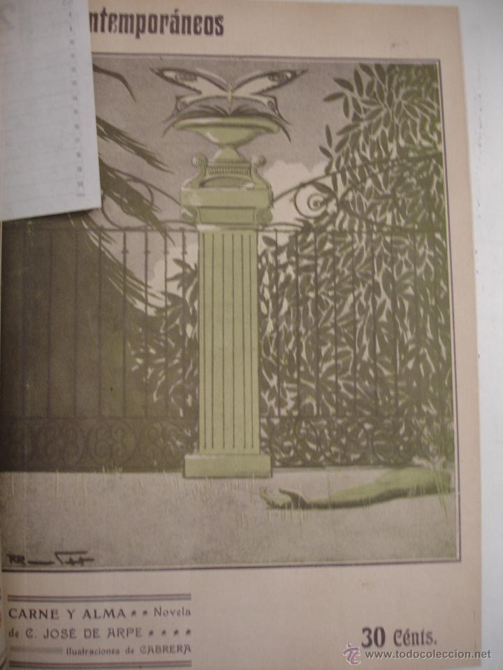 Libros antiguos: LOS CONTEMPORANEOS. REVISTA SEMANAL ILUSTRADA. TRES TOMOS año completo 1910 HASTA ENERO 1911 - Foto 15 - 42451489