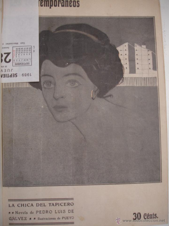 Libros antiguos: LOS CONTEMPORANEOS. REVISTA SEMANAL ILUSTRADA. TRES TOMOS año completo 1910 HASTA ENERO 1911 - Foto 17 - 42451489