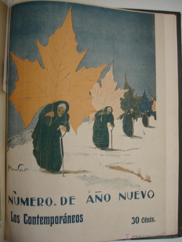 Libros antiguos: LOS CONTEMPORANEOS. REVISTA SEMANAL ILUSTRADA. TRES TOMOS año completo 1910 HASTA ENERO 1911 - Foto 19 - 42451489
