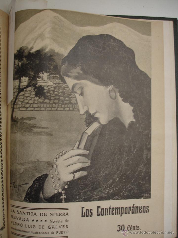 Libros antiguos: LOS CONTEMPORANEOS. REVISTA SEMANAL ILUSTRADA. TRES TOMOS año completo 1910 HASTA ENERO 1911 - Foto 20 - 42451489