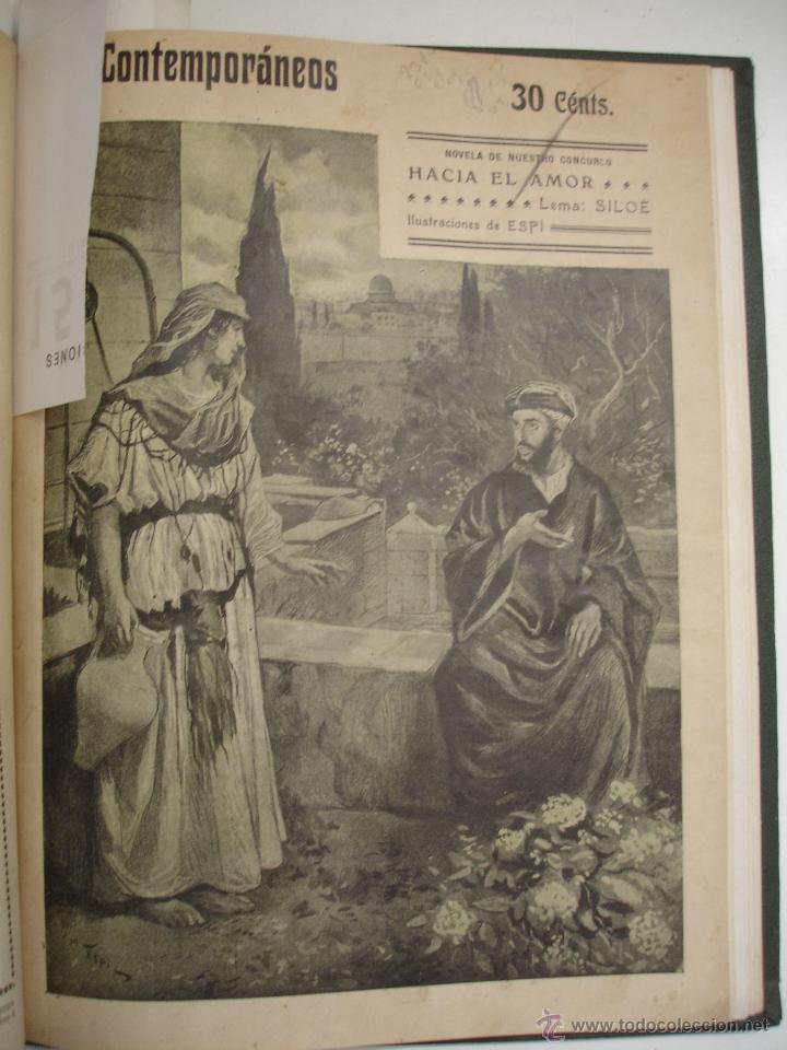 Libros antiguos: LOS CONTEMPORANEOS. REVISTA SEMANAL ILUSTRADA. TRES TOMOS año completo 1910 HASTA ENERO 1911 - Foto 21 - 42451489