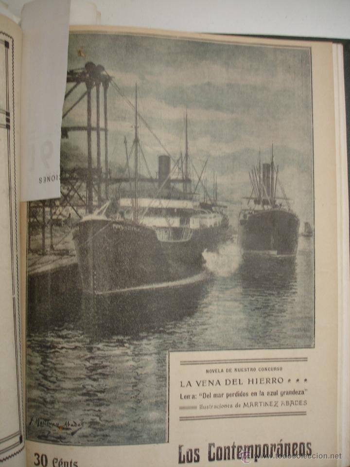Libros antiguos: LOS CONTEMPORANEOS. REVISTA SEMANAL ILUSTRADA. TRES TOMOS año completo 1910 HASTA ENERO 1911 - Foto 22 - 42451489