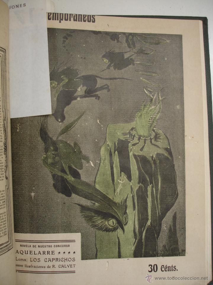 Libros antiguos: LOS CONTEMPORANEOS. REVISTA SEMANAL ILUSTRADA. TRES TOMOS año completo 1910 HASTA ENERO 1911 - Foto 23 - 42451489
