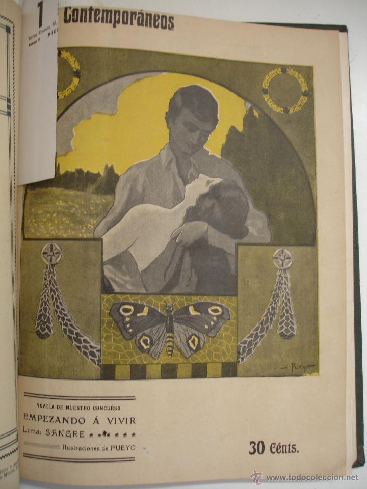 Libros antiguos: LOS CONTEMPORANEOS. REVISTA SEMANAL ILUSTRADA. TRES TOMOS año completo 1910 HASTA ENERO 1911 - Foto 28 - 42451489