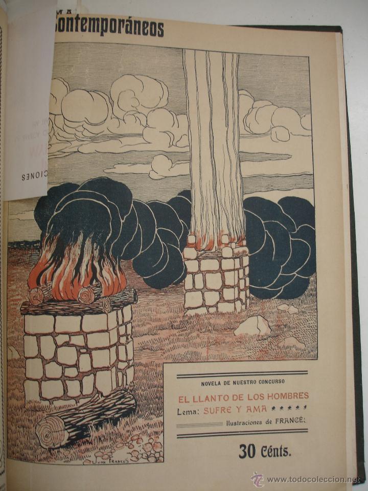 Libros antiguos: LOS CONTEMPORANEOS. REVISTA SEMANAL ILUSTRADA. TRES TOMOS año completo 1910 HASTA ENERO 1911 - Foto 29 - 42451489