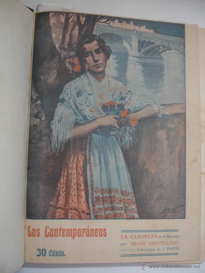 Libros antiguos: LOS CONTEMPORANEOS. REVISTA SEMANAL ILUSTRADA. TRES TOMOS año completo 1910 HASTA ENERO 1911 - Foto 31 - 42451489