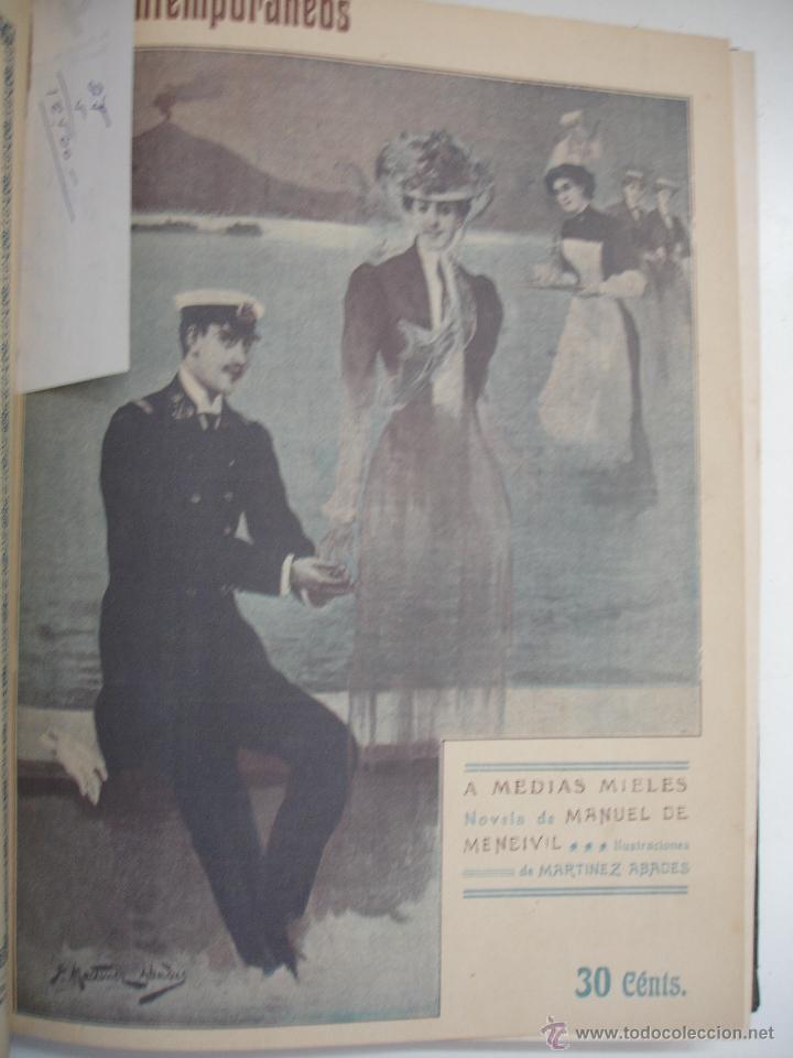 Libros antiguos: LOS CONTEMPORANEOS. REVISTA SEMANAL ILUSTRADA. TRES TOMOS año completo 1910 HASTA ENERO 1911 - Foto 34 - 42451489