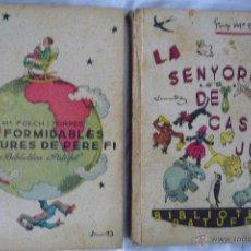 Libros antiguos: L- 328. FOLCH I TORRES LOT DE DOS LLIBRES. 1934 -1935. EDITORIAL JOSEP BAGUÑA.. Lote 42616777