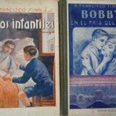 Libros antiguos: L- 516. LOTE DOS LIBROS NARRACIONES ESCOLARES. LIBRERIA RELIGIOSA 1923 Y 1925.. Lote 42617245