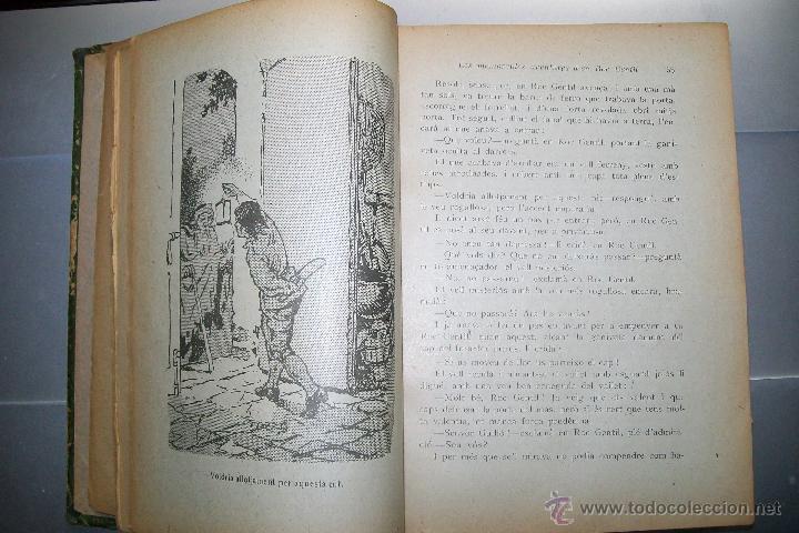 Libros antiguos: FOLCH I TORRES AVENTURES D´EN ROC GENTIL NIU D´ALIGUES BIBLIOTECA PATUFET AÑOS 20 - Foto 2 - 42877024