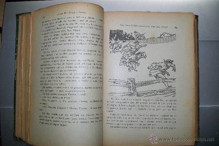 Libros antiguos: FOLCH I TORRES AVENTURES D´EN ROC GENTIL NIU D´ALIGUES BIBLIOTECA PATUFET AÑOS 20 - Foto 3 - 42877024