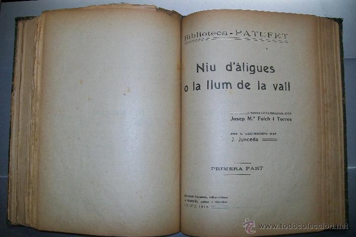Libros antiguos: FOLCH I TORRES AVENTURES D´EN ROC GENTIL NIU D´ALIGUES BIBLIOTECA PATUFET AÑOS 20 - Foto 7 - 42877024