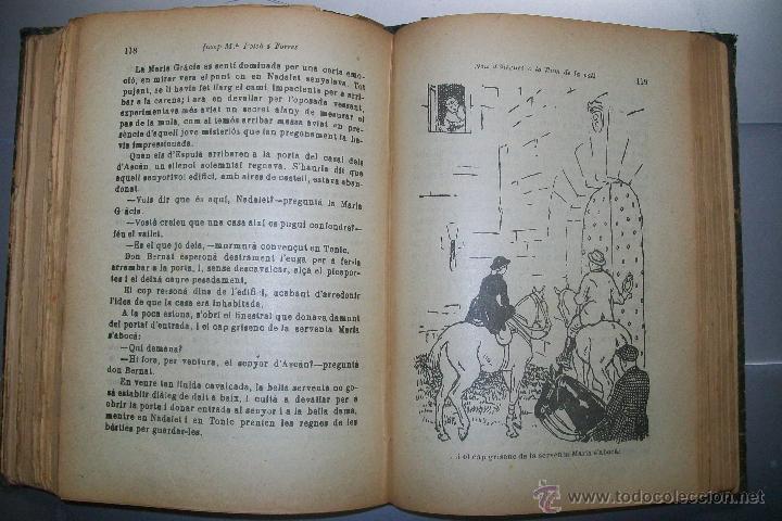 Libros antiguos: FOLCH I TORRES AVENTURES D´EN ROC GENTIL NIU D´ALIGUES BIBLIOTECA PATUFET AÑOS 20 - Foto 8 - 42877024