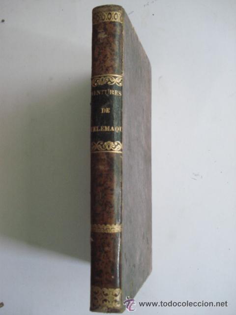 LES AVENTURES DE TELEMAQUE FILS D'ULYSSE - 1863 FRANCIA - GRABADOS (Libros Antiguos, Raros y Curiosos - Literatura Infantil y Juvenil - Novela)